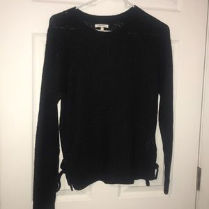 Maurice's Black sweater with silver flecks